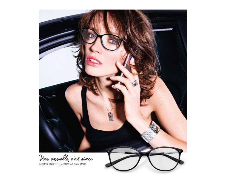 Montures lunettes mauboussin
